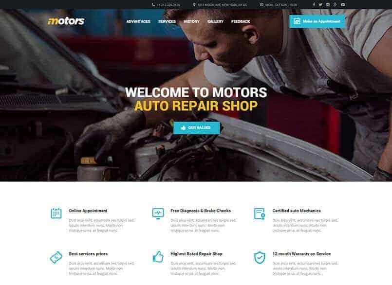 Theme Motors miễn phí - Theme wordpress mua bán xe ô tô đẹp 21