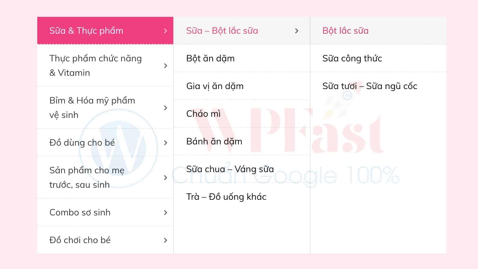Theme wordpress cho shop mẹ và bé - web340 1