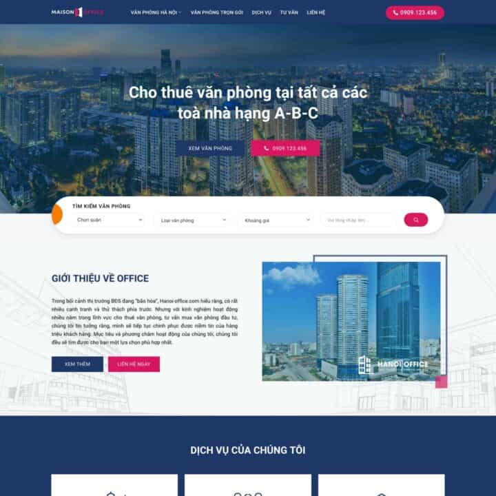 theme-wordpress-cho-thue-van-phong
