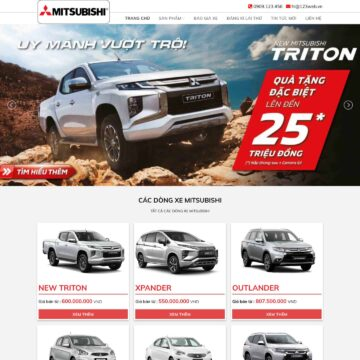 theme-wordpress-gioi-thieu-dai-ly-mitsubishi-motors-viet-nam