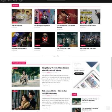 Theme wordpress tin tức giải trí, showbiz 2